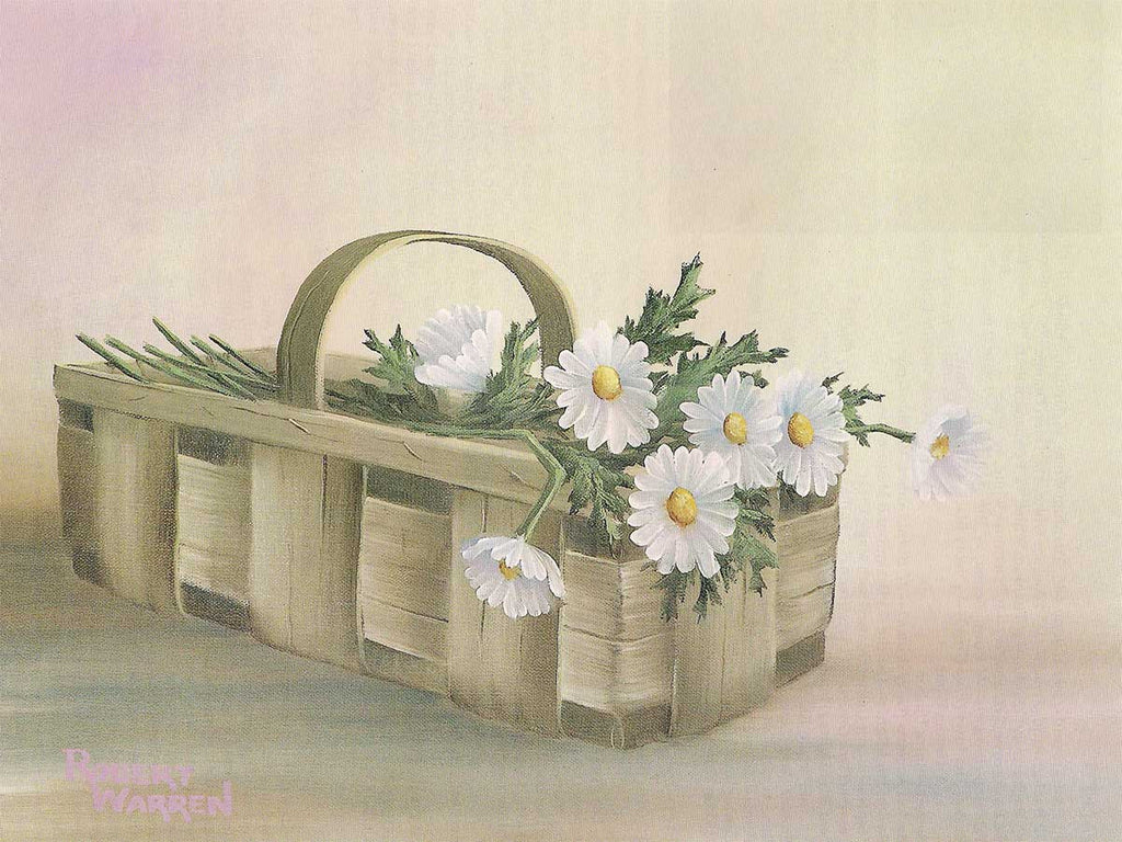 A Basket of Daisies
