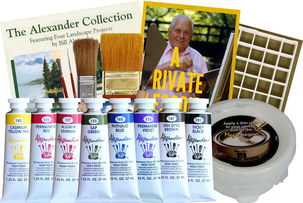 The Magic of Oil Painting Kit with FOUR FREE BONUSES!