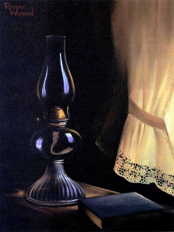 Mom's Oil Lamp
