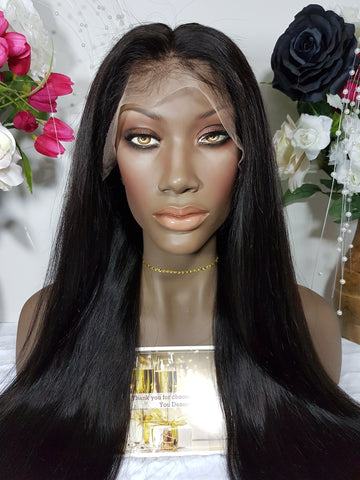 Cambodian Straight 5x5 CLOSURE Wig (3 bundles + closure) - Heavenly Lox