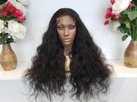 Cambodian Body Wave 5x5 CLOSURE Wig (260%) - Heavenly Lox