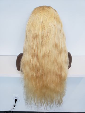 Cambodian Blonde Body Wave High Density FRONTAL Wig (3 bundles + frontal) - Heavenly Lox
