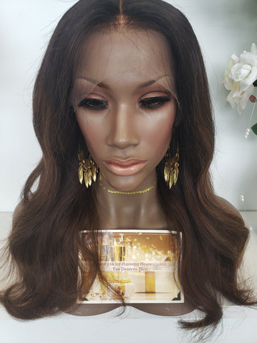 Mocha dream Lace Wig - Heavenly Lox