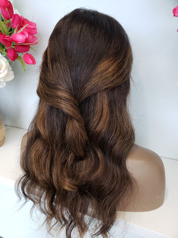 Classic BALAYAGE lace frontal Wig (130%) - Heavenly Lox