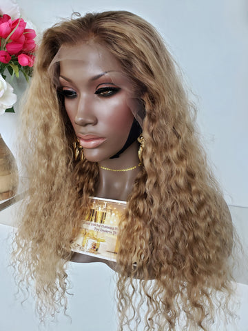 Champagne Mami Dirty Blonde Lace Wig - Heavenly Lox