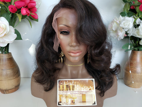 ZOE FRONTAL Wig (2 bundles + frontal) - Heavenly Lox