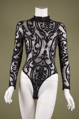 So Amazing Bodysuit (WHITE) - Heavenly Lox