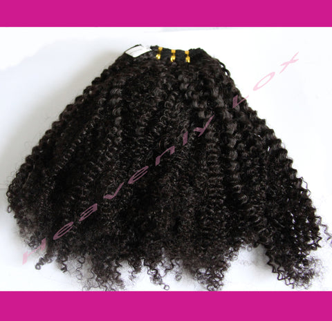 Afro Luxe Curl SINGLE DONOR Bundles - Heavenly Lox