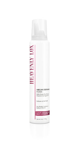 ARGAN DEFINING FOAM - Heavenly Lox