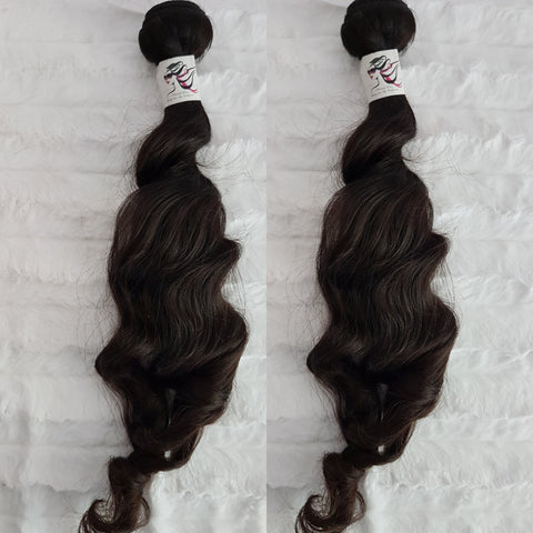 Tahitian Goddess Wave SINGLE DONOR Bundles (extensions) - Heavenly Lox