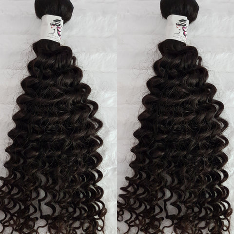 St Lucian Dream Curl SINGLE DONOR Bundles (extensions) - Heavenly Lox