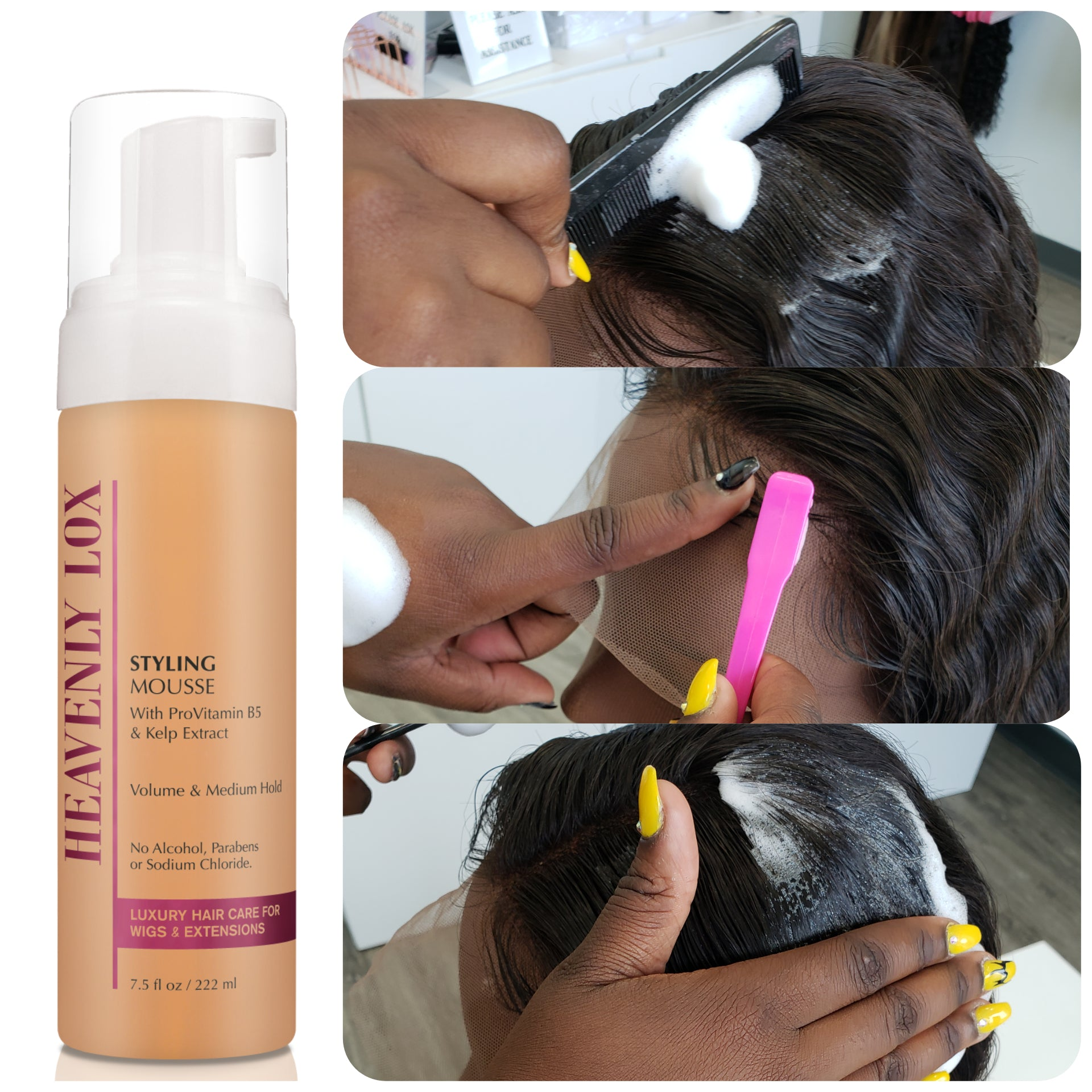 Styling Mousse Heavenly Lox