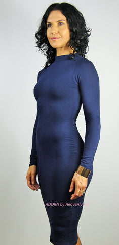 Mya bodycon Dress (Navy) - Heavenly Lox