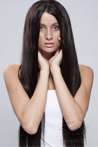 Silky Straight Lace Front Wig - Heavenly Lox