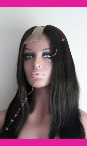 STOCK U-Part Wig (Full Lace) - Heavenly Lox