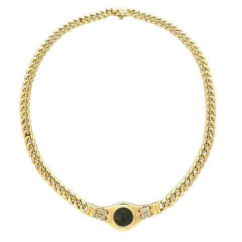 Bulgari Monete Ancient Coin Necklace