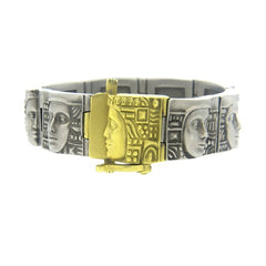 Kieselstein Cord Women Of The World ArtSteel Gold Bracelet
