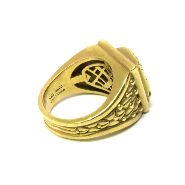Kieselstein Cord Women of the World Gold Ring