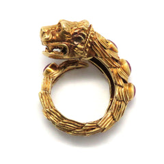 Zolotas Gold Ruby Chimera Ring