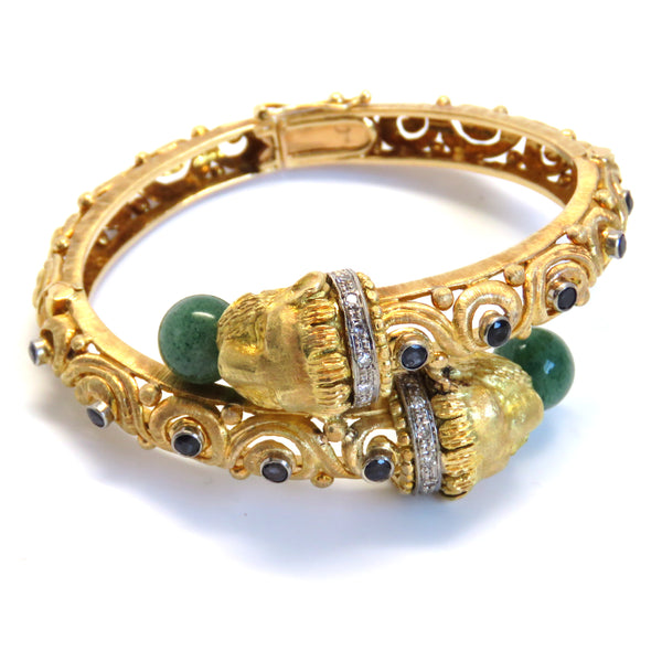 Zolotas Gold Diamond Gem Chimera Bracelet