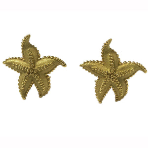 Tiffany & Co Starfish Gold Earrings
