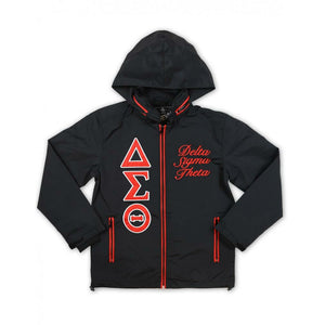 Delta Sigma Theta  Black Windbreaker 2021