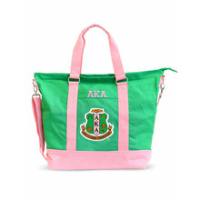 Load image into Gallery viewer, Alpha Kappa Alpha  Oversized Bag Tote