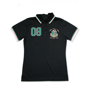 ALPHA KAPPA ALPHA POLO SHIRT (Black)