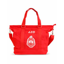 Load image into Gallery viewer, Delta Sigma Theta  Oversized Bag Tote