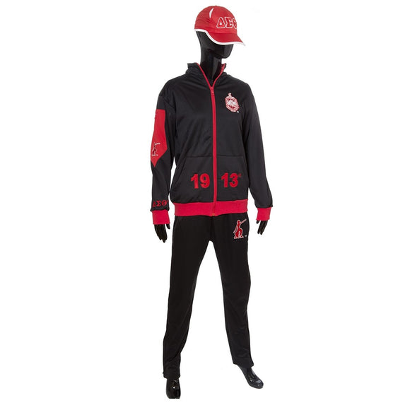 Delta Sigma Theta  Elite Track Jacket  & Matching Pants