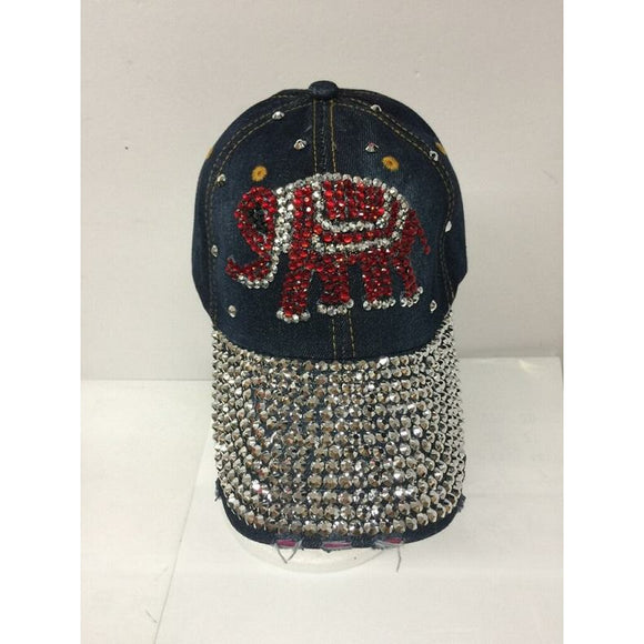 BLING ELEPHANT HAT