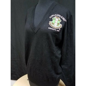 Black Alpha Kappa Alpha Pullover Sweater