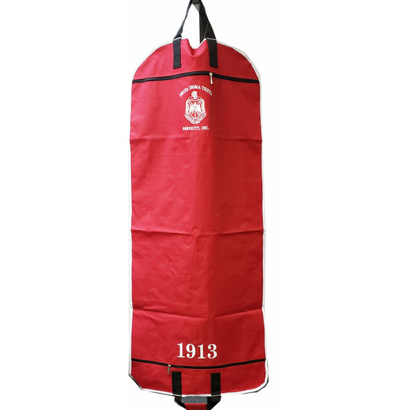 Delta Sigma Theta Red Garment Bag