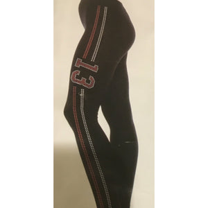Delta Sigma Theta Inspired 13 Bling Leggings