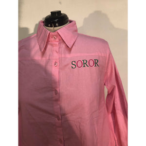 SOROR Hi Low Shirt Dress