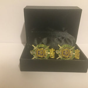 Omega Psi Phi Crest Cuff Links