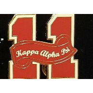 Kappa Alpha Psi Founded Year Lapel Pin