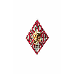 Kappa Alpha Psi Diamont Helmet Lapel Pin