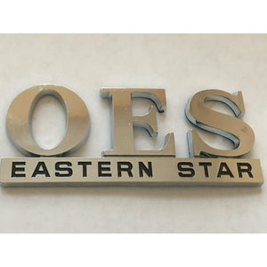 Order Eastern Star  Car Tag