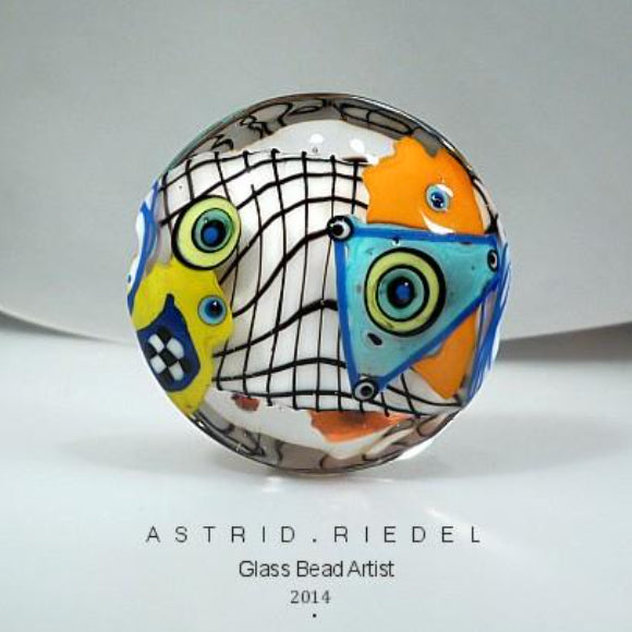 Hip to be Square - Op Art Beads with Astrid Riedel