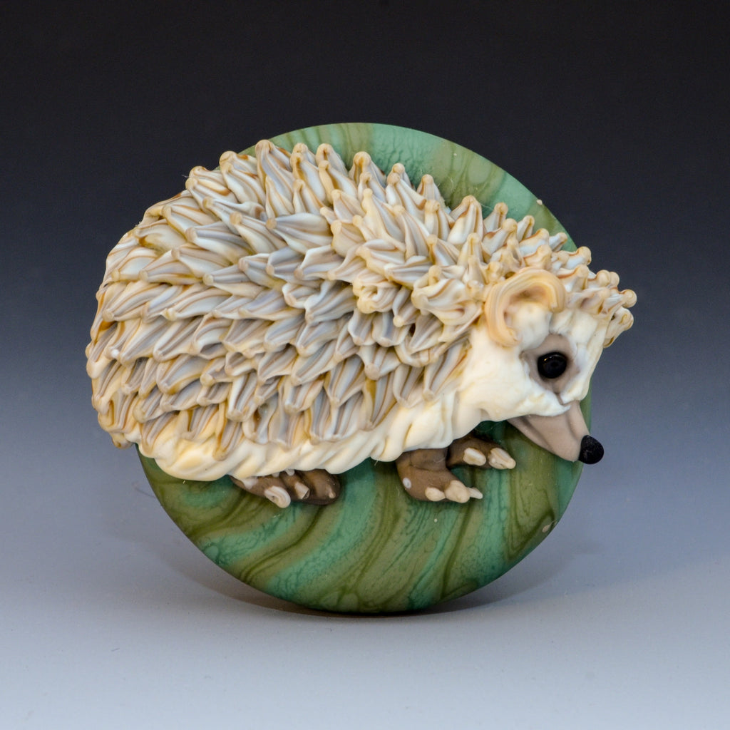 Quills, Scales, Feathers + Fur - Flameworked Animals Sculpted in Bas-Relief with Joy Munshower