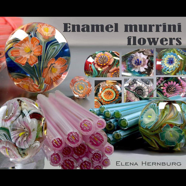 Enamel Murrini Flowers with Elena Hernburg