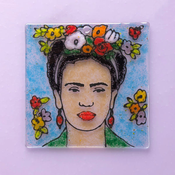 TO-GO KIT: Glass By Number - Frida Kahlo