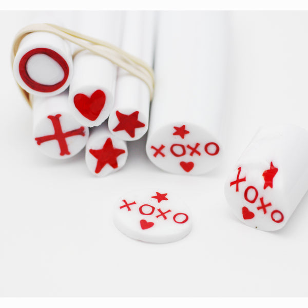 Traditional Murrine: Stars, Hearts, Exs, Ohs with Lucie Kovarova - ABC