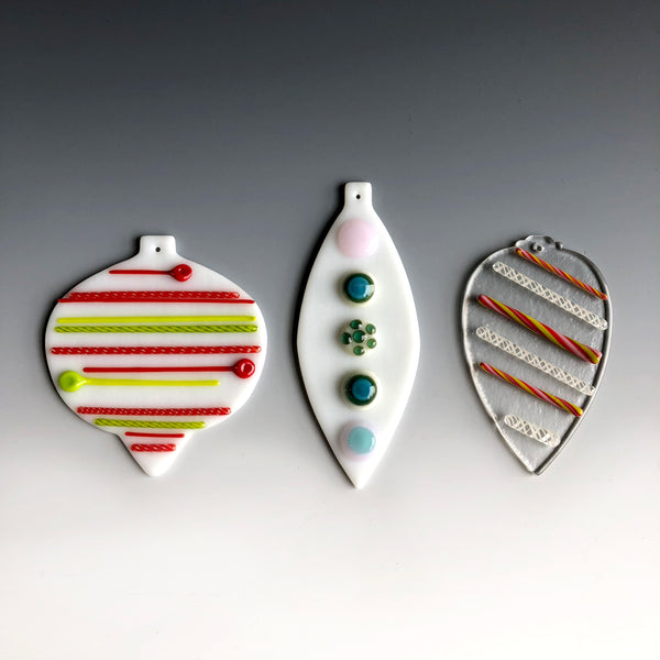 Torch to Kiln: Ornaments