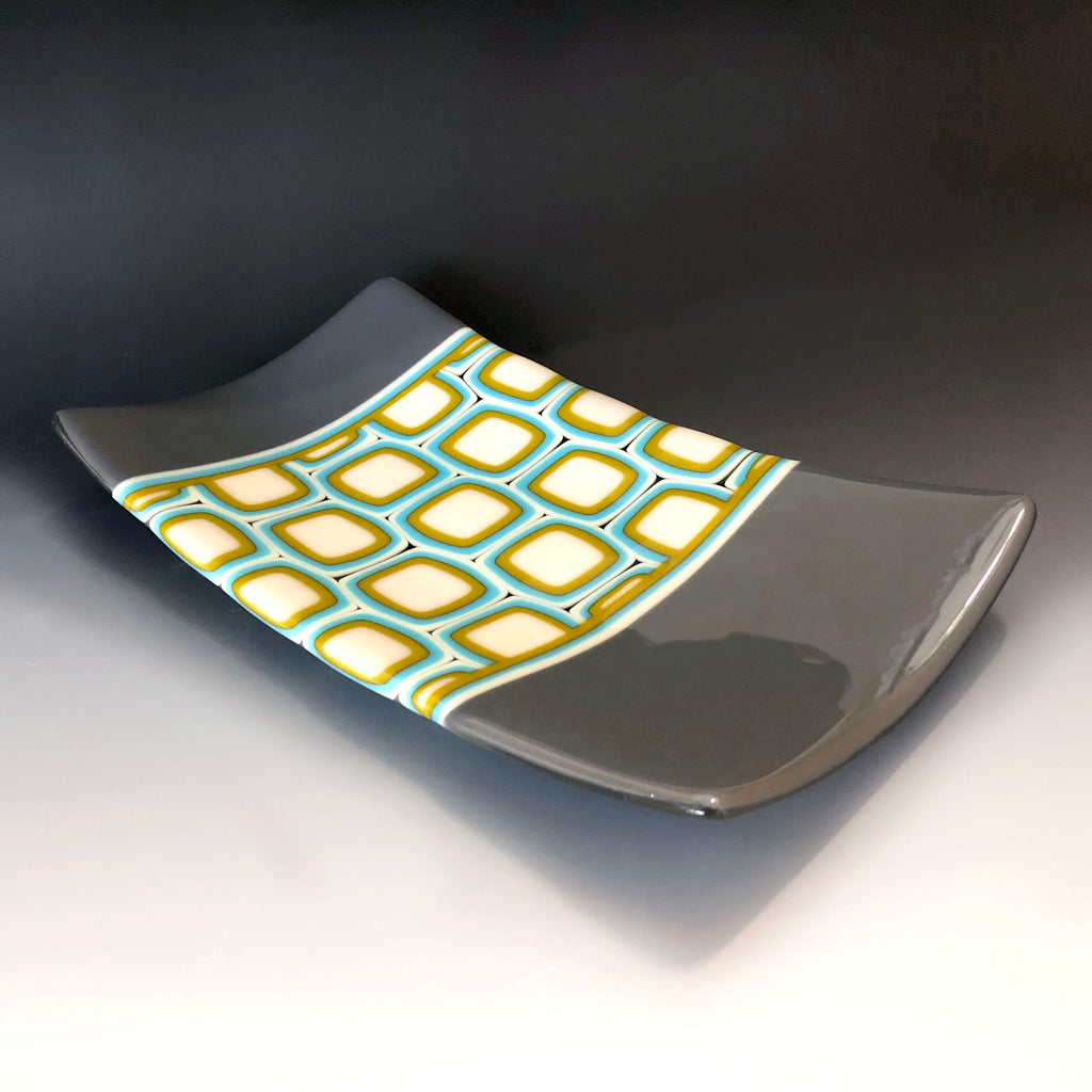 Squared Pattern Plate