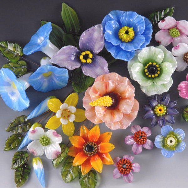 Sculptural Floral Beads - with Kim Fields