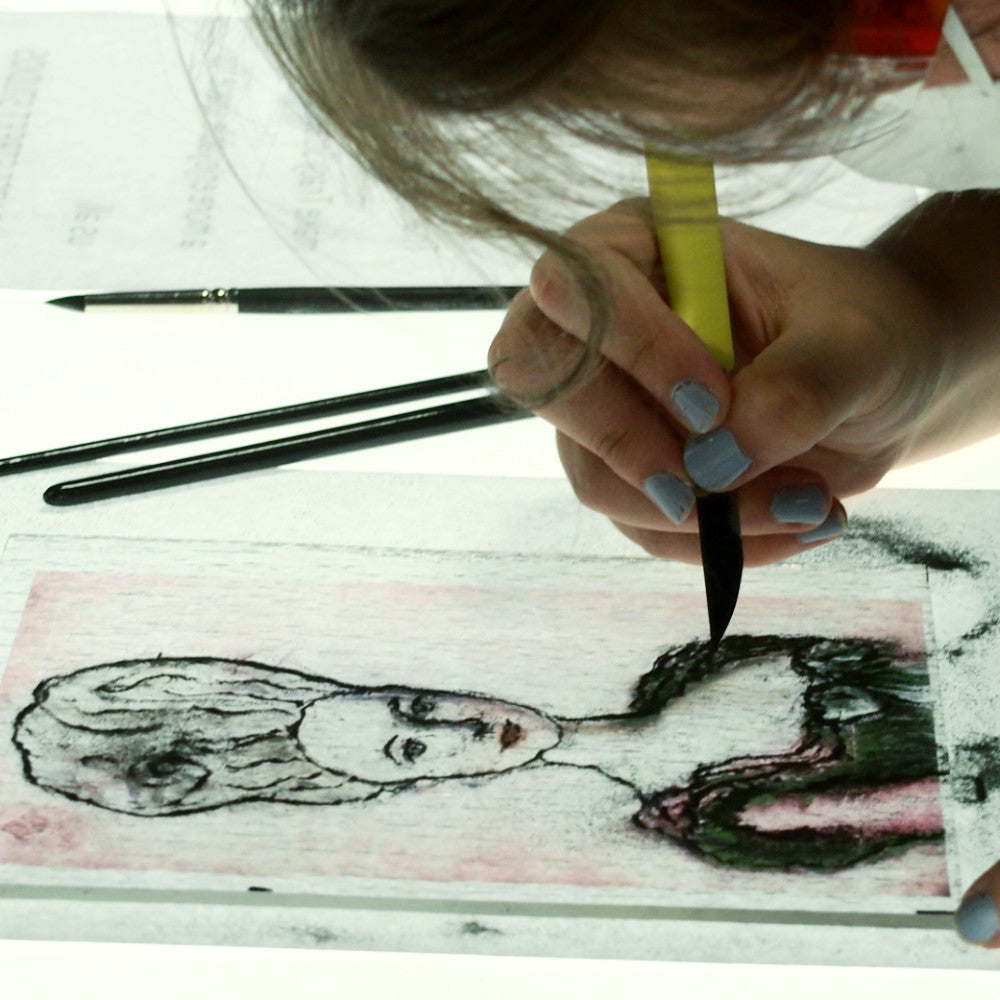 Teen Painting + Drawing with Glass