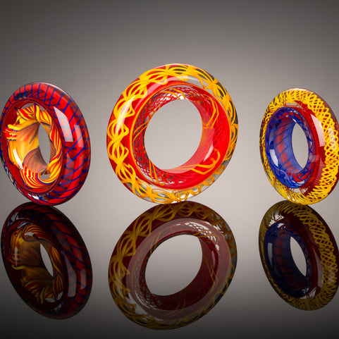Precision in Glass: Twists, Disks, and Big Hole Beads with Heather Trimlett