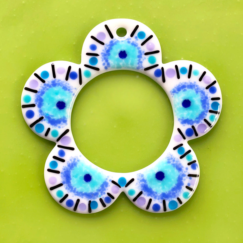 TO-GO KIT: Blue Flower Wreath